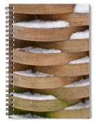 Puzzle Of Circles Spiral Notebook