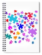 Puzzle Pieces Spiral Notebook