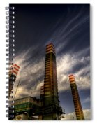 Pylons Spiral Notebook