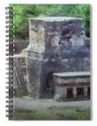 Pyramid View Spiral Notebook