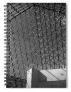 Pyramide Du Louvre Spiral Notebook