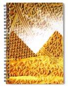 Pyramids Spiral Notebook