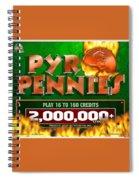 Pyro Pennies Spiral Notebook