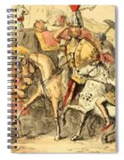 Pyrrhus Arrives In Italy With His Troupe Spiral Notebook