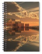 Q-city Five Spiral Notebook