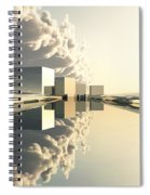 Q-city Four Spiral Notebook