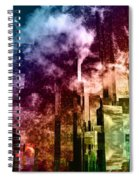Q-city Three Spiral Notebook