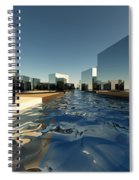 Q-city Two Spiral Notebook