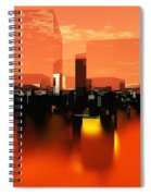 Q-city Zero Spiral Notebook