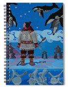 Qikiqtaaluk Whale Dreamer Spiral Notebook
