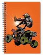 Quad Rider Series Spiral Notebook