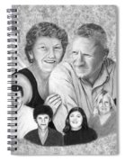 Quade Family Portrait  Spiral Notebook