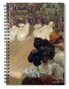 Quadrille At The Bal Tabarin Spiral Notebook