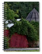 Quaint Red Barn  Spiral Notebook