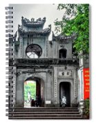 Quan Thanh Temple Gate Spiral Notebook