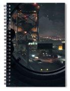 Quantum Break Spiral Notebook