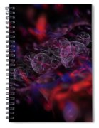 Quantum Bubbles Spiral Notebook
