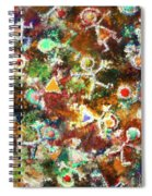 Quantum Humans Spiral Notebook