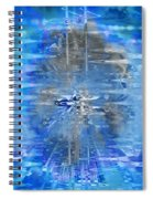 Quantum Reflections Spiral Notebook