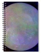 Quartz Crystal Ball Spiral Notebook