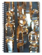 Quartz Crystal Collection Spiral Notebook