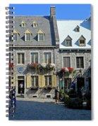 Quebec City 54 Spiral Notebook