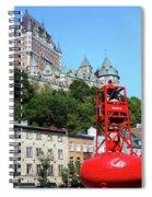 Quebec City 57 Spiral Notebook
