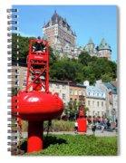 Quebec City 58 Spiral Notebook