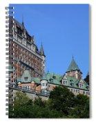 Quebec City 59 Spiral Notebook