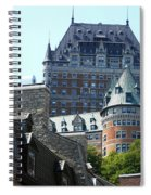Quebec City 60 Spiral Notebook