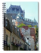 Quebec City 61 Spiral Notebook
