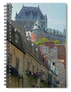 Quebec City 62 Spiral Notebook