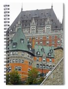 Quebec City 65 Spiral Notebook