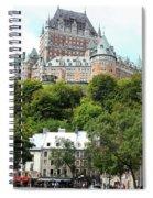 Quebec City 68 Spiral Notebook