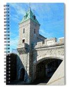Quebec City 72 Spiral Notebook