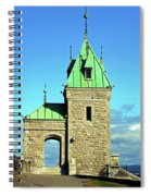 Quebec City 74 Spiral Notebook