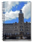 Quebec City 79 Spiral Notebook