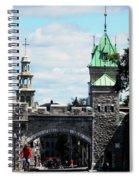 Quebec City 81 Spiral Notebook