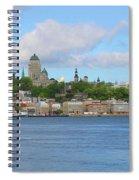 Quebec City Waterfront  6320 Spiral Notebook