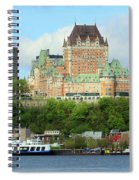 Quebec City Waterfront 6324 Spiral Notebook