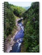 Quechee Gorge In Vermont Spiral Notebook