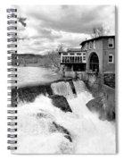 Quechee's Thaw Spiral Notebook