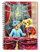 Queen Elizabeth And Prince Philip At Newby Hall Spiral Notebook