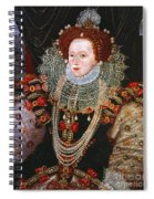 Queen Elizabeth I, C1588 Spiral Notebook