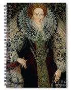 Queen Elizabeth I Spiral Notebook