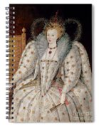 Queen Elizabeth I Of England And Ireland Spiral Notebook