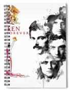 Queen Forever Remix II Spiral Notebook