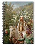 Queen Guinevere Spiral Notebook