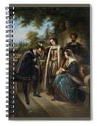 Queen Isabella And Columbus Henry Nelson Oneil Spiral Notebook