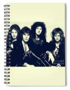 Queen Spiral Notebook